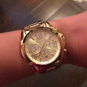 MK Gold Watch